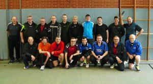 Die Teilnehmer der Vereinsmeisterschaften im Seniorenbereich